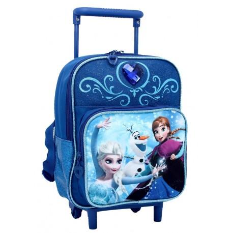 comprare popolare ed959 c97cd frozen trolley asilo doppia tasca