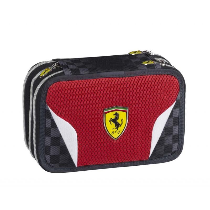 8f870efebf ... Scuderia Ferrari zaino Estensibile + astuccio triplo + macchina in  regalo